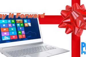 Pay it Forward Laptop Giveaway!