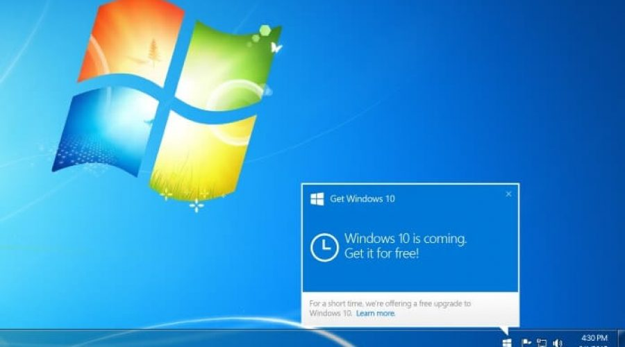 Stopping the Windows 10 update Notice with GWX Control Panel