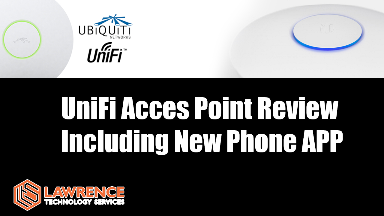 Better wireless using UBiQuiTi's UniFi Access Points