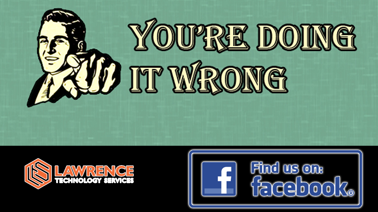 Social Media: You are doing it wrong
