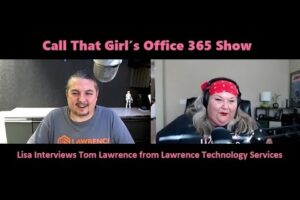 Lisa Interviews Tom Lawrence  July 25th 2016