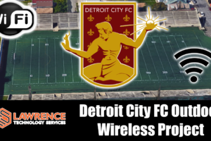 Detroit City FC / Keyworth Stadium Outdoor Wireless Install