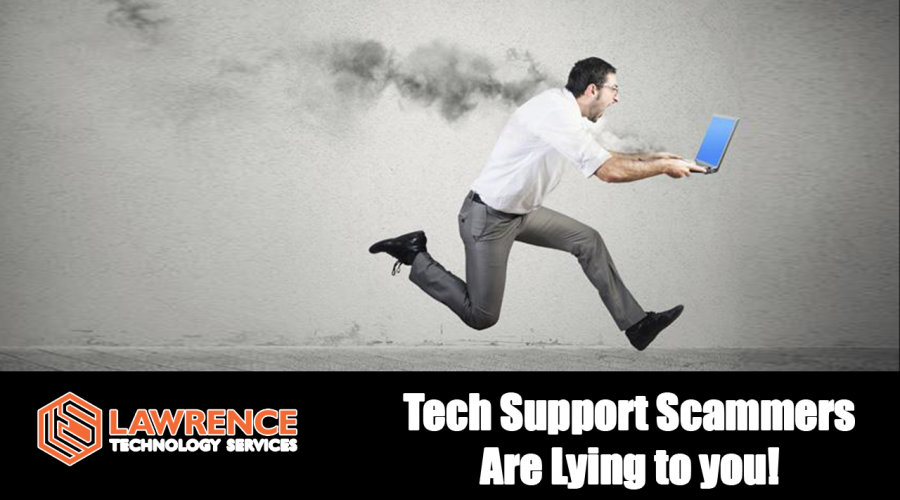 Call Tech Support scammers are lying to you because it is their job to
