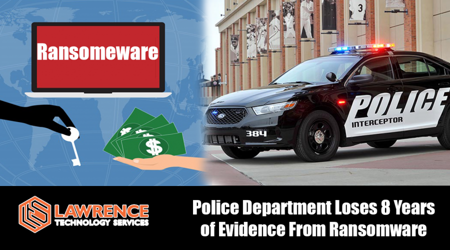 Police lost 8 years of evidence in ransomware attack