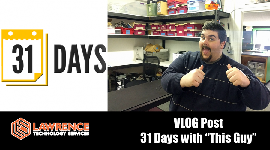 """VLog Febuary 09 2017 Update, 31 days of """"This Guy"""""""