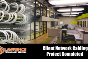 Quick Overview of an Awesome Client Network Cabling / Structured Cabling Project We Recently Completed