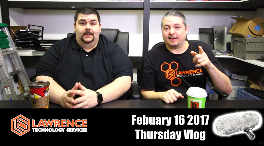 February 16 2017  Vlog: Business, Firewalls, personal pages for personal projects and a dead cat on a blimp has nothing to do with animals.
