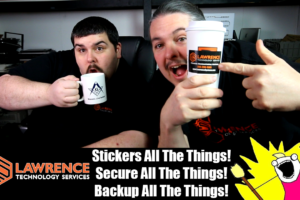 VLOG March 23 2017: Sticker All The Things! Secure All The Things! Backup All The Things!