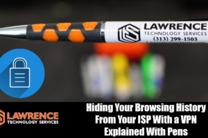 Hiding Your Browsing History From Your ISP With a VPN, Explained With Pens