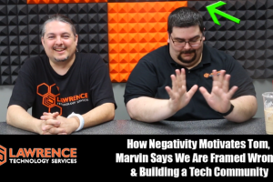 "5/18/2017 VLOG: Negativity Motivates Tom, Marvin ""We Are Framed Wrong"", & Building a Tech Community"