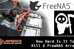 So How Hard Is It To Crash and Kill a FreeNAS 11 ZFS Raid Z1 Array?