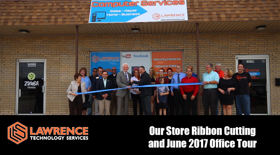 Our Store Ribbon Cutting and June 2017 Computer Office Tour