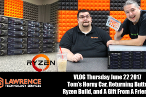 VLOG Thursday, June 22 2017 Tom's Car, Returning Butts, Ryzen Build, and A Gift From A Friend!