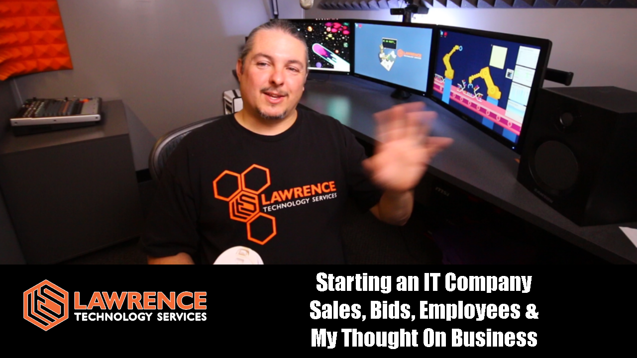 Starting an IT Company Sales, Bids, Employees & My Thought On Business