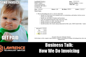 Business Talk: How We Do Invoicing