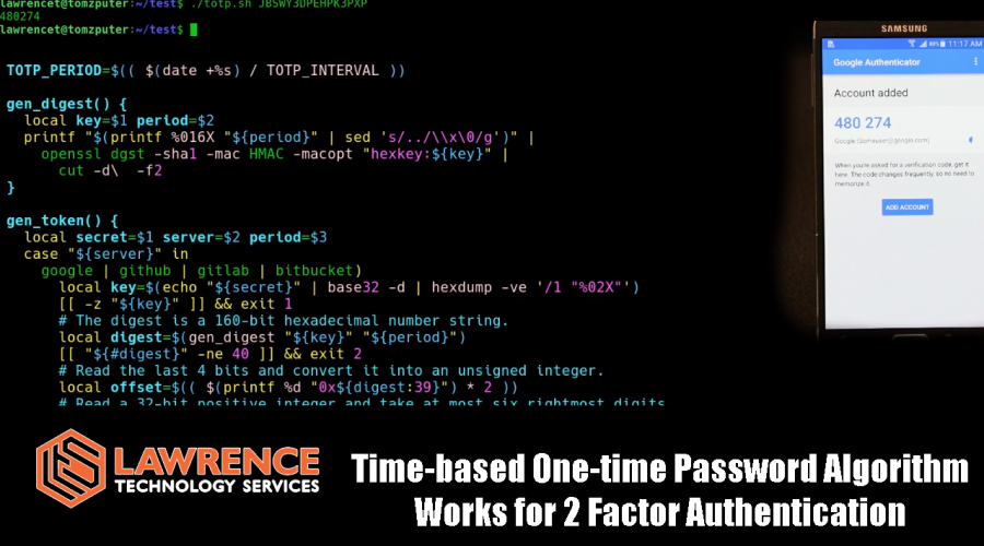 How TOTP (Time-based One-time Password Algorithm) Works for 2 Factor Authentication