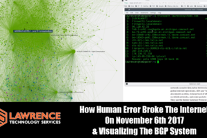 How Human Error Broke The Internet On November 6th 2017 & Visualizing The BGP System