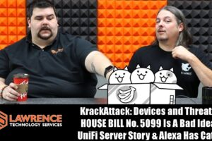 VLOG Thursday 10/19/17: KrackAttack: Devices and Threats, HOUSE BILL No. 5099 Is A Bad Idea & Alexa Cats