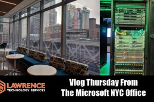 Vlog Thursday 11/16/17 From the Microsoft NYC Office