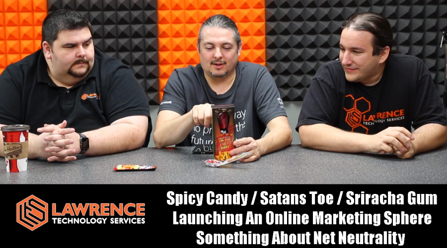 VLOG TurkeyDay Thursday 11/23/17:  Spicy Candy, Sriracha Gum, Launching An Online Marketing, Sphere Something About Net Neutrality