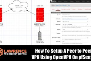 How To Setup A Peer to Peer VPN Using OpenVPN On pfSense