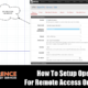 How To Setup OpenVPN For Remote Access On pfsense