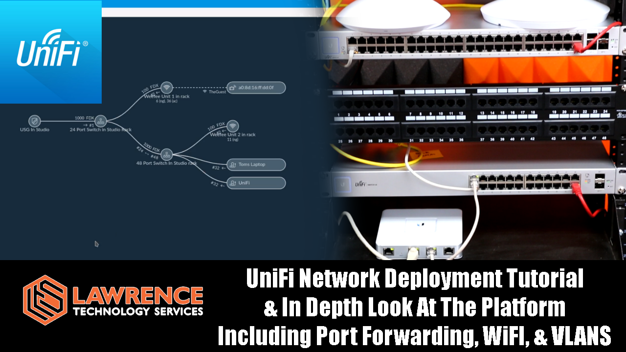 UniFi Network Deployment Tutorial & In Depth Look At The