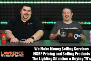 VLOG 1/11/18: Make Money Selling Services, MSRP Pricing, Our Lighting Situation & Buying TV's