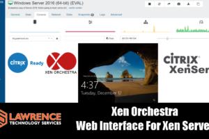 Xen Orchestra Web Interface For Citrix Xen Server