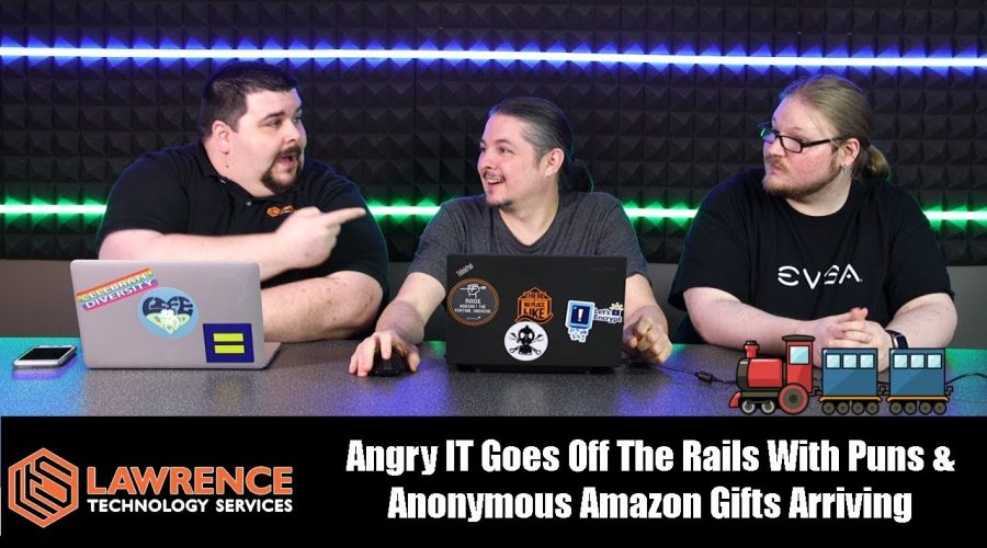 Off Topic Episode 10: Angry IT Goes Off The Rails With Puns & Anonymous Amazon Gifts Arriving