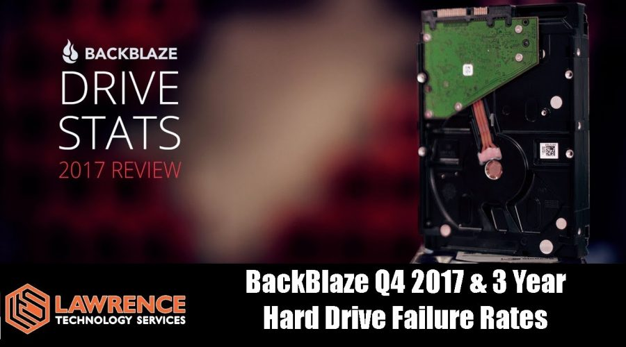 Backblaze Hard Drive Stats for 2017 & 3 year summary and The Most Reliable Drives They Use