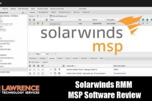 Solarwinds RMM  MSP Software Review