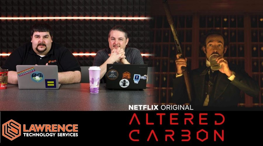 Off Topic Episode 9: Let's Talk About the Netflix Series Altered Carbon