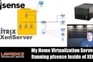 My Home Virtualization Server Running pfsense Inside of Citrix XEN Server & Autostarting VM's in XEN