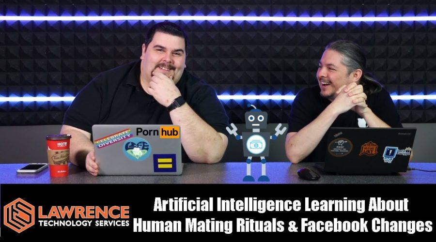 Off Topic Episode 5 Artificial Intelligence Learning About  Human Mating Rituals & Facebook Changes