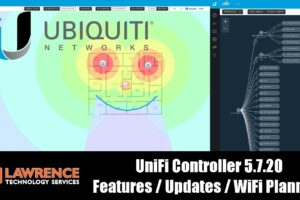 UniFi Controller 5.7.20 Features / Updates / WiFi Planning and showing of the Heat-map functions