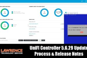 UniFI Controller 5.6.29 Release Notes & How we update our self hosted controller Virtual Machine