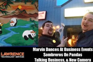 VLOG Thursday Episode 55:Marvin Dances At Business Events Sombreros On Pandas Talking Business