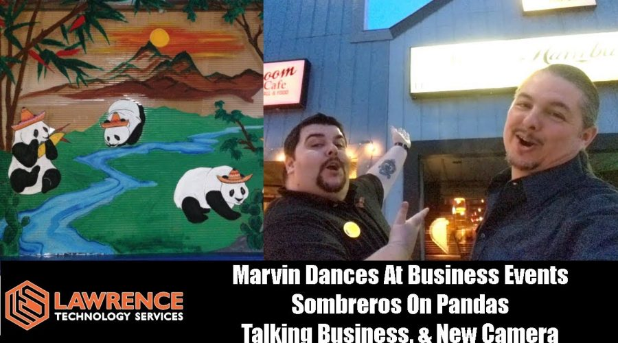 VLOG Thursday Episode 55:Marvin Dances At Business Events Sombreros On Pandas Talking Business
