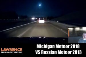 Michigan Meteor 2018  VS Russian Meteor 2013. Flash in the sky conspiracies.