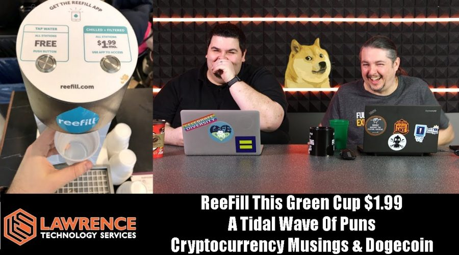 Off Topic Episode 8: ReeFill Water App $1.99, Tidal Wave of Puns, Marvin Learns About Dogecoin