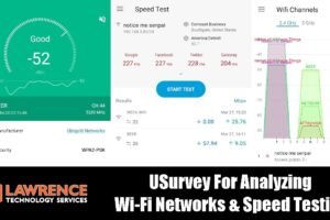 UBNT / UniFi USurvey For Analyzing  Wi-Fi Networks & Speed Testing