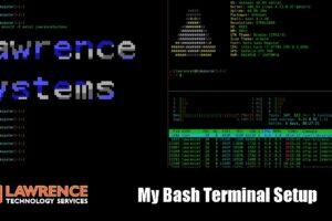 My Customized Bash Terminal Shell Setup
