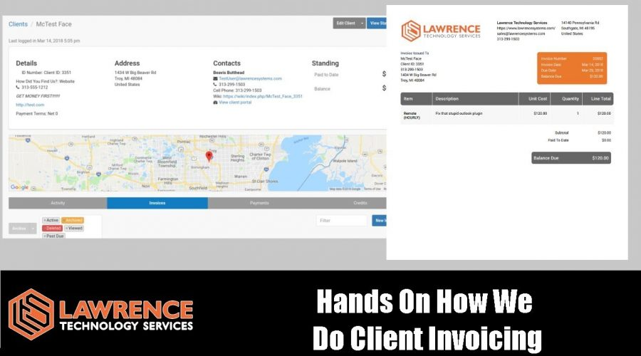Our Client Billing / Invoicing Process & Workflow Hands On from Issue to Invoice to getting paid.