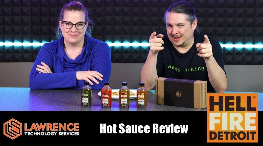 Tom & Kass Review The Hell Fire Detroit Fire Roasted Hot Sauce!