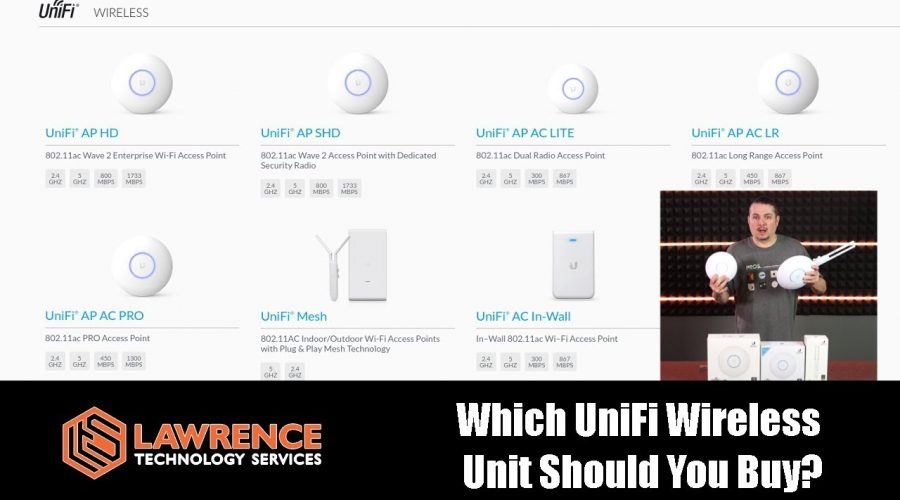 Which UniFi Wireless  Unit Should You Buy Based on Different Use Cases & Scenarios