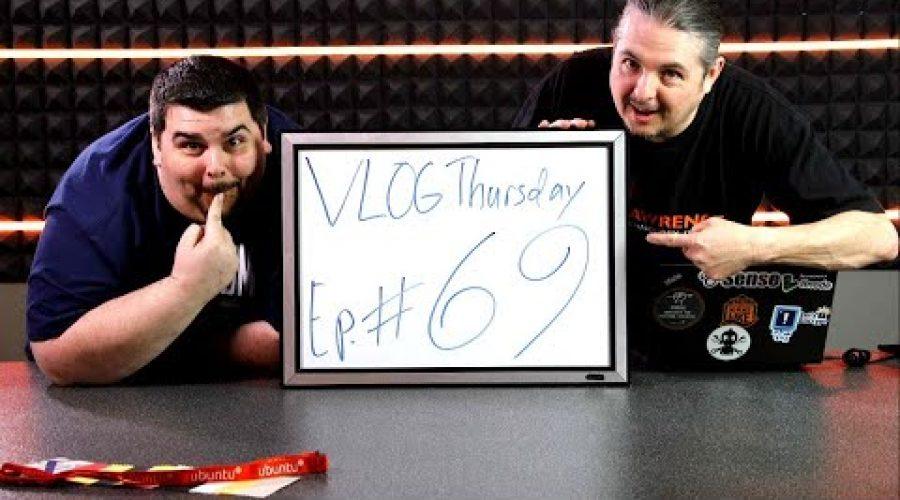 "VLOG Thursday Episode Pickle69 ""Dude, Where's My Barge?"" & Penguicon"
