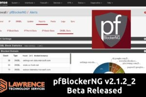 pfBlockerNG v2.1.2_2 Beta for pfsense Released and It's awesome!