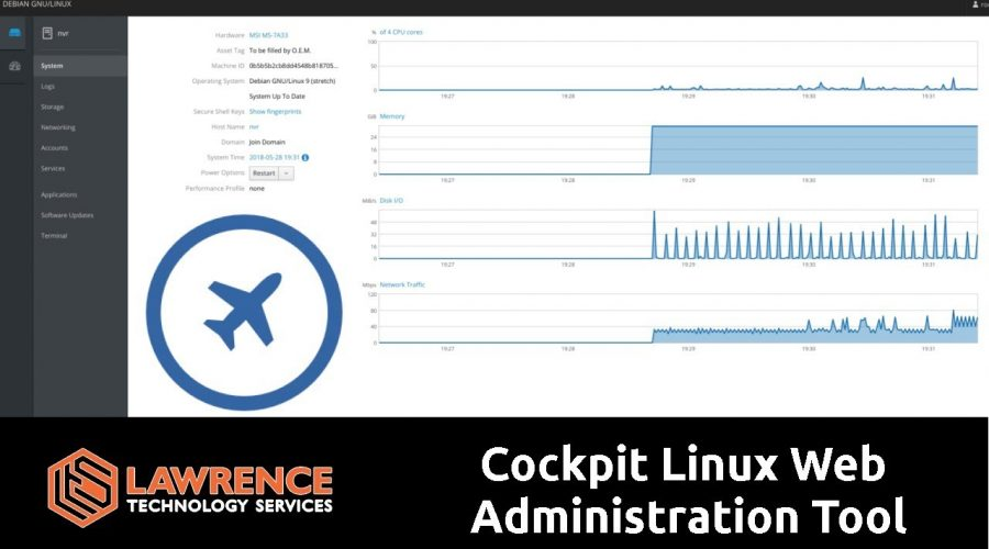 Quick Review of Cockpit, The Web Based Linux Server Manager