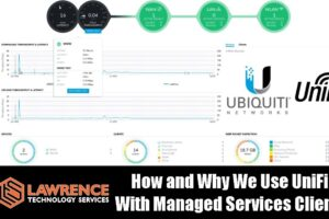 How and Why We Use Ubiquiti / UniFi for our Managed Services Clients